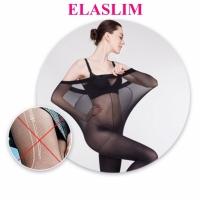 Нервущиеся колготки Elaslim (Эласлим) черный размер 5, 80 ден