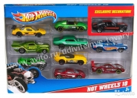 Машинки Hot Wheels 10 в 1