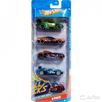 Машинки Hot Wheels 5 в 1