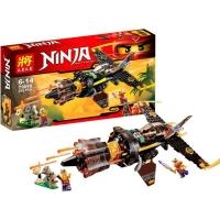 Конструктор Ninja 79099 Скорострельный истребитель Коула