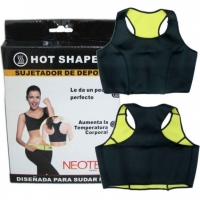 Топ-майка для похудения HOT shapers размер L