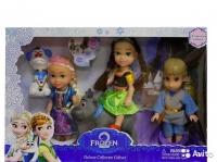 Набор кукол 5шт Frozen-2. 33х22х6см