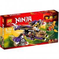 Детский конструктор 79098 Ninja дракон-самолет Анакондрай