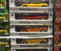 Машина на пульте управления на батарейках Surpass Car 1:18 (коробка 27 см)