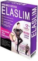 Нервущиеся колготки Elaslim (Эласлим) черный размер 4, 80 ден