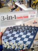 Настольная игра 3в1 на магните