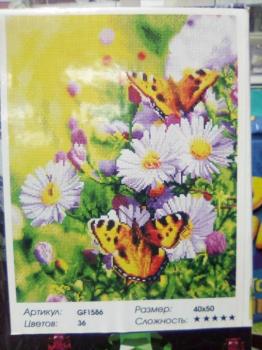 Алмазная мозаика Бабочки