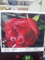 Алмазная мозаика Алая Роза